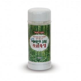 지리산 3회 생활죽염(200g)